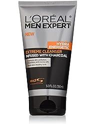 L'Oréal Paris Men's Expert Hydra Energetic Charcoal Face Wash Cleanser, 5 fl. oz.
