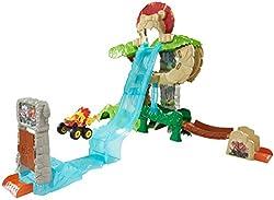 Fisher-price Nickelodeon Blaze & The Monster Machines, Animal Island Stunts Speedway