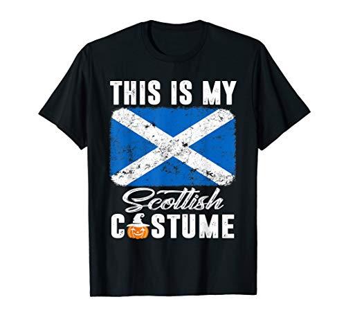 Scotland Costume For Kids (Scotland Flag Tshirt This Is My Scottish Costume)