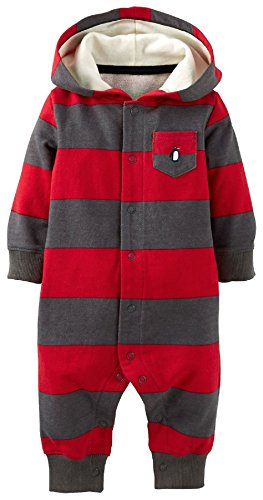 Carters Snap Up Coverall Jumpsuit Penguin