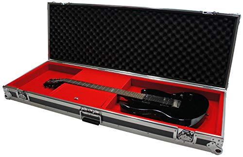 Harmony HCGTRB New Flight Ready Hard Case fits Fender P-Bass or Jazz Bass Guitar