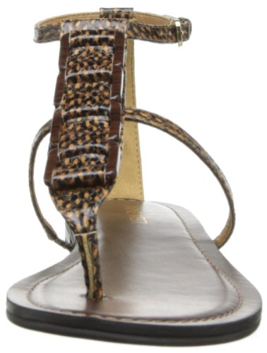 Natural Sandal Nine West Dress Multi Women's Fandi xw7x46Rqn