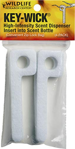 - Wildlife Research 375 Key-Wick Scent Absorbing Wick (4-Pack)