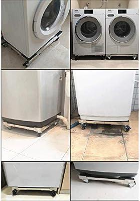 LBSX Lavadora refrigerador de Acero Inoxidable Base del Pedestal ...