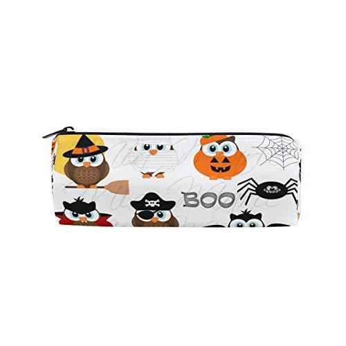 Pen Case Halloween Cute Eagle Pencil Pouch Makeup Cosmetic Travel School Bag ()