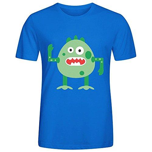 Arnie Mens T-Shirt Blue (Minecraft Halloween Vietnam)