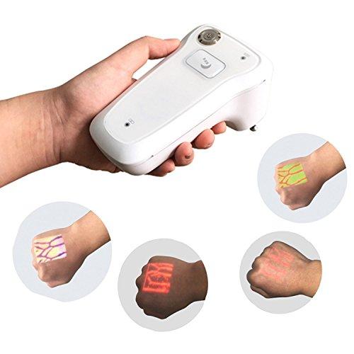 SunMelt Infrared Vein Finder, Visor de Venas portátil Localizador de detectores Luces de visualización de iluminación para...