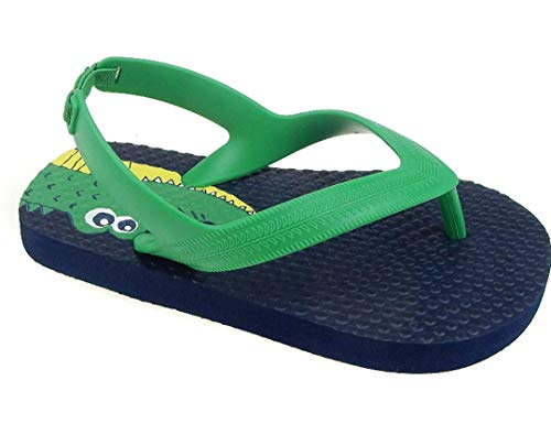 Pictures of Toddler Beach Flip FlopBoys Sandals Blue Green 3