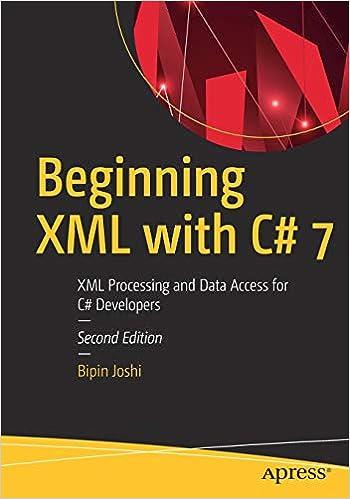 Beginning XML with C#