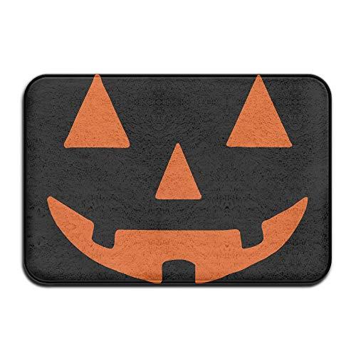Halloween Pumpkin Indoor Outdoor Entrance Rug Non Slip Floor Mat Doormat Rugs for Home -