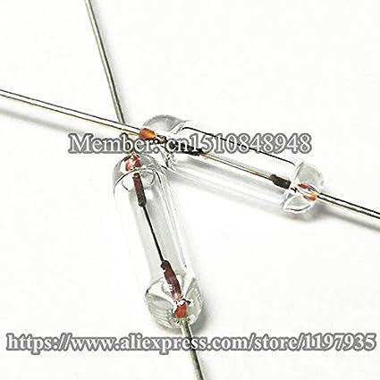 Fusible de vidrio sellado completo 3 mm x 10 mm 310 250 V 500 mA 0 ...