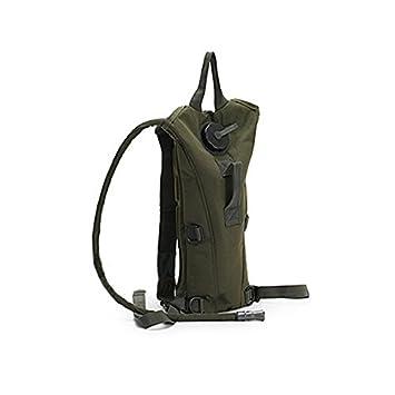 Symboat 3L agua bolsa de vejiga Militar senderismo Camping mochila de hidratación Camelbak doble bolsas de hombro, Army Green: Amazon.es: Deportes y aire ...