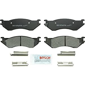 Bosch BP702 QuietCast Premium Semi-Metallic Front Disc Brake Pad Set