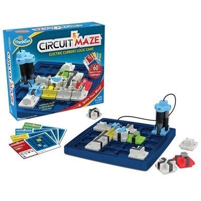Circuit Maze: Electric Current Logic Game. Made by ThinkFun