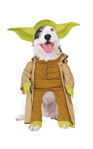 Rubies Costume Star Wars Collection Pet Costume, Yoda with Plush Arms, (Tv Based Halloween Costumes)