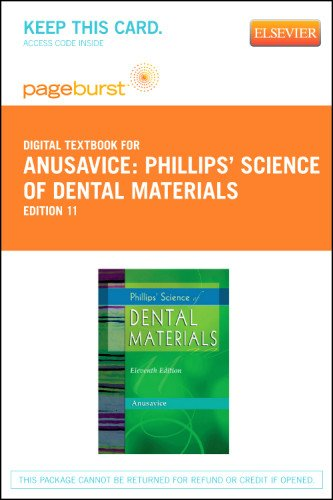Phillips' Science of Dental Materials - Elsevier eBook on VitalSource (Retail Access Card), 11e