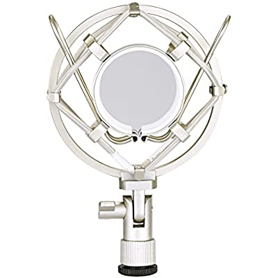 neewer-silver-microphone-shock-mount