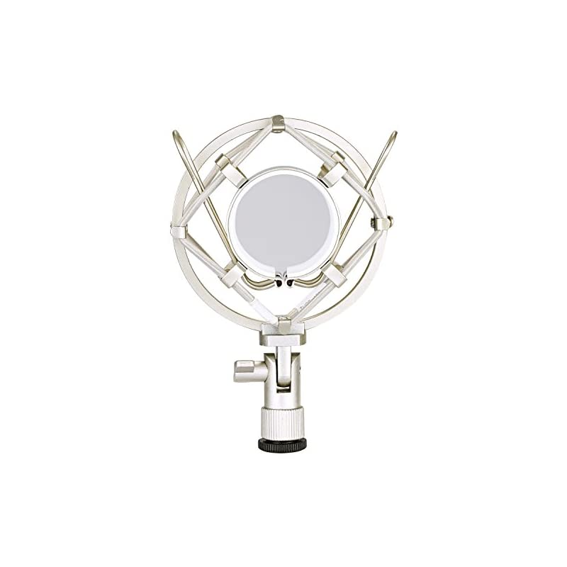 Neewer Silver Microphone Shock Mount Hol