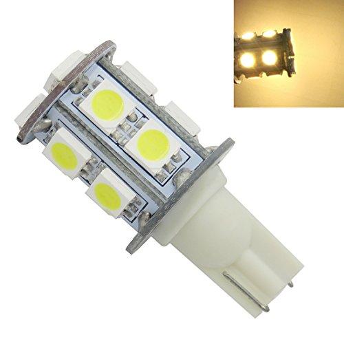 T10 AC/DC 12V 2W LED Bulb Lights Lamps White - 7
