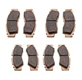 #7: MudRat Brake Pads Yamaha YXZ1000R SE 2016-2018 Front and Rear by Race-Driven