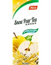 Yeo's Snow Pear Tea, 250ml, Pack of 6