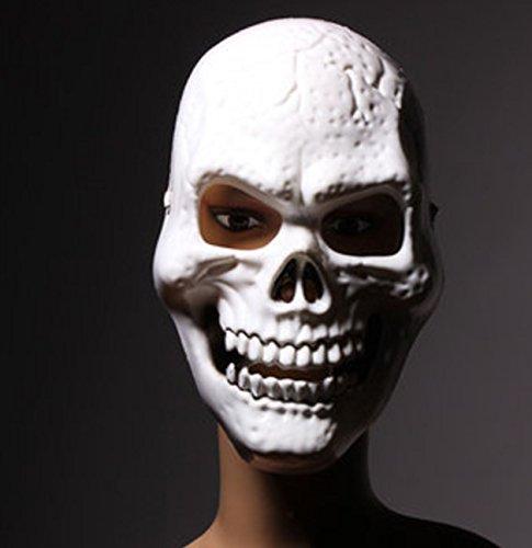 Easy Lazy Halloween Costumes (Halloween Luminous Terror Horrible Skull Mask by Superjune)