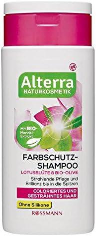 Farbschutz Shampoo Lotusbla Te Bio Olive Amazon De Baumarkt