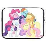 Laptop Sleeve Bag My Little Pony Tablet Briefcase Ultraportable Protective Canvas for 15 Inch MacBook Pro/MacBook Air/Notebook Computer