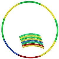 Kaarq Kids Hula Hoop Detachable Fitness Hoop for Children's Exercise Fitness Workout Hula Hoop (Diameter - 65 cm)