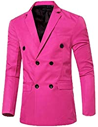Amazon.com: Pink - Sport Coats & Blazers / Suits & Sport Coats ...