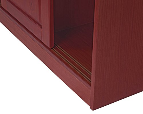 Palace Imports 5672 100 Solid Wood 3 Sliding Door