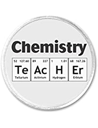 Amazon math science applique patches accessories chemistry teacher 3 sew on patch science periodic table elements cute humor urtaz Gallery