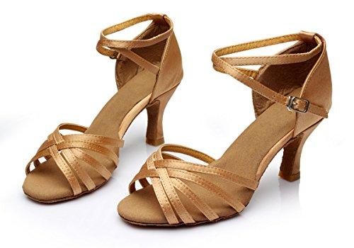 Latin Shoes Vesi Beige Sandals Dance Ballroom Women's 07qfxwUBS