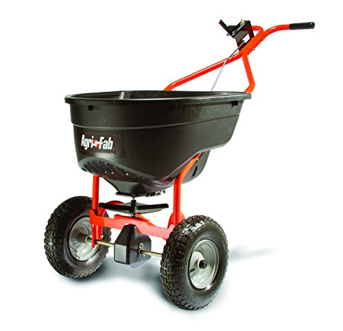 Spreader Drop Lawn (Agri-Fab 45-0462 Push Broadcast Spreader)