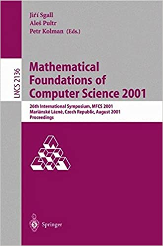 Mathematical Foundations of Computer Science 2001: 26th