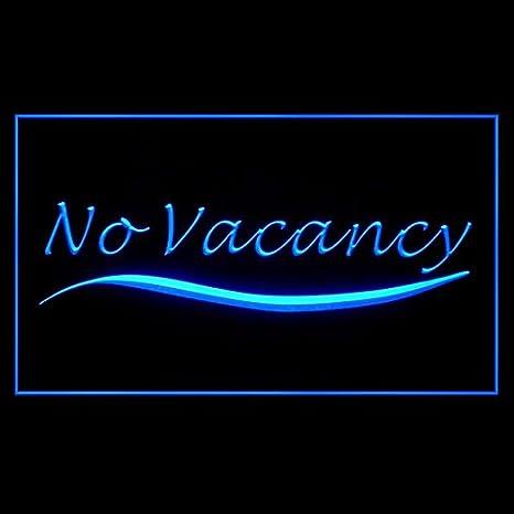 No Vacancy Restaurant Closed Holiday Temporarily Notice