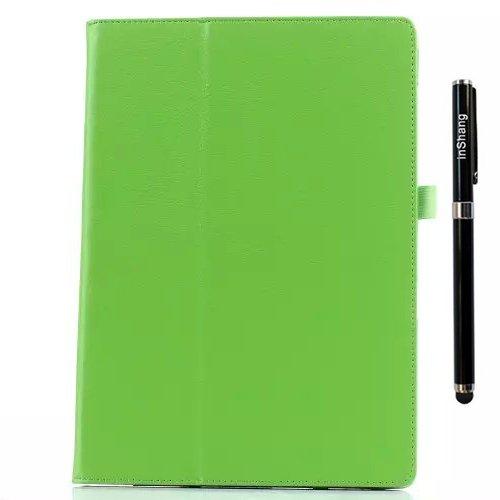 2 carcasa 1 inShang clase Profesional Microsoft green para soporte Folio marca Microsoft Estilo Surface3 Tablet Style Funda alta negocio Book Fundas PU de 3 y elegante Surface pluma Stylus cubierta in Xw4Xgq