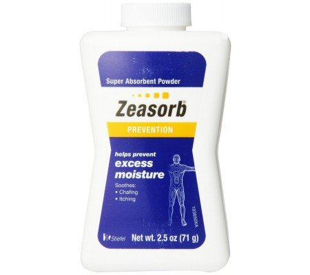 Excess Moisture - Zeasorb Excess Moisture 2.5 Oz (5 Pack)