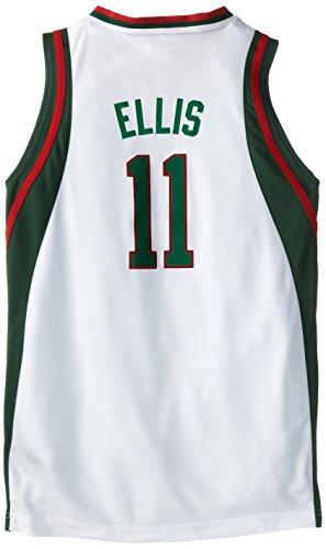 NBA Minnesota Timberwolves Monta Ellis Youth 8-20 Swingman Home Jersey, Medium, White