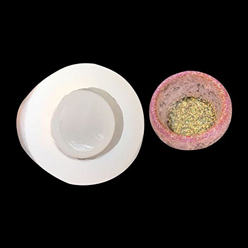 Dish Mold (WXLAA Silicon Resin Casting Small Bowl Mold Jewelry Mould DIY Craft Making)