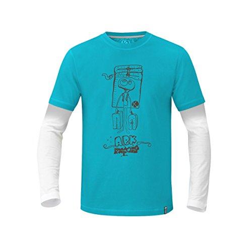 Blue Electric Ls Tropic Light Camiseta Crash Pad Abk Yx0OZqg