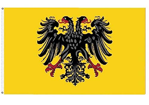 - ALBATROS 3 ft x 5 ft German 1st Reich Flag 1400-1806 Roman Empire Imperial Banner Flag for Home and Parades, Official Party, All Weather Indoors Outdoors