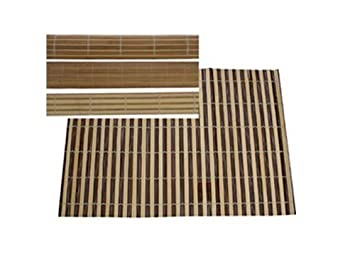Bambus Tischlaufer Bamboo Tischschmuck 4 Fachsortiert Amazon De