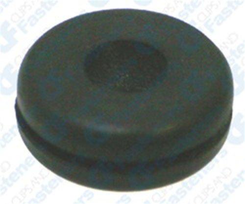 25 Rubber Grommets 5/16' Bore Diameter 13/16' O.D. Clipsandfasteners Inc