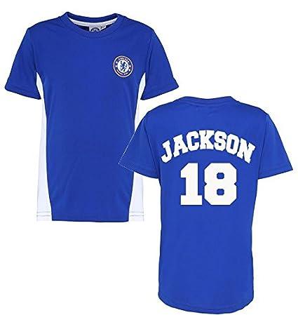 Producto oficial chelsea fc personalizada nombre y número camiseta camiseta para niños Chelsea fútbol ventilador producto