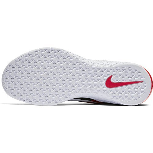 Nike Metcon Dsx Flyknit Size 10.5 Mens Cross Training Black/White-Bright Crimson-Gym Red Shoes (Shoes Sticky Nike)