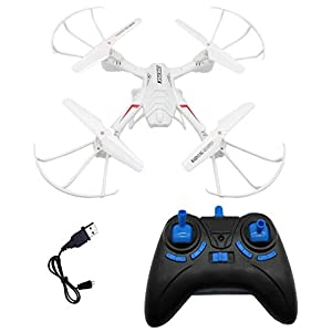 SUPER TOY Remote Control 2.4GHz Quadcopter Drone for Kids – Altitude Hold, Headless Mode and 360 Degree Flip Action…