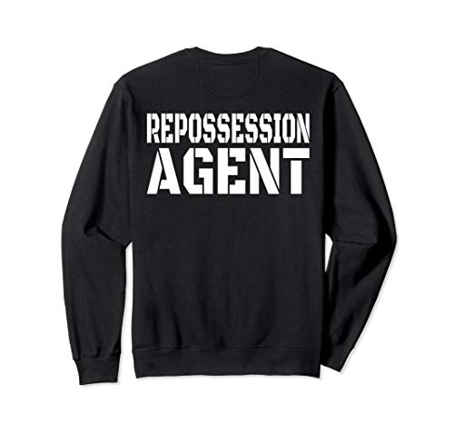 REPO Agent Sweatshirt Recovery Agent Shirt for Work