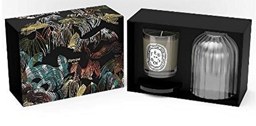 Diptyque Holiday 2014 Wood Fire Candle Holder Set