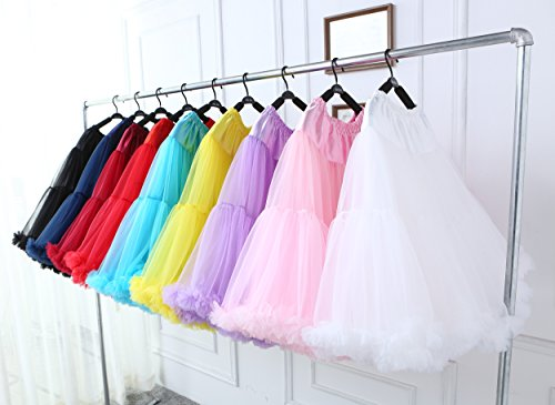 Tutu danse jupe mousseline tutu en de Costume Tulle de mousseline soie jupe luxueux femmes bouffante de Pinkwhite adulte FOLOBE en multicouche ballet Petticoat 0RvaOO